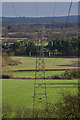 TQ0859 : Pylons by Ian Capper