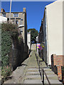 TA0488 : Spreight Lane Steps - north 2 by John S Turner