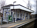 SJ8488 : Gatley Railway Station by JThomas