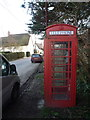 ST8512 : Iwerne Courtney: phone box on Main Street by Chris Downer