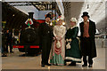 TQ2681 : Victorians at Paddington Station by Peter Trimming