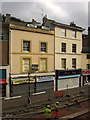 SX9163 : Closed shops, Fleet Street, Torquay by Derek Harper