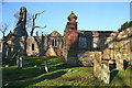 NJ7057 : Old Parish Kirk by Anne Burgess