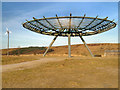 SD7923 : Halo, Panopticon above Haslingden by David Dixon