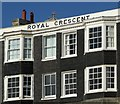 TQ3203 : Royal Crescent, Brighton, close up by nick macneill