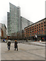 SJ8397 : Manchester, Great Northern Square by David Dixon