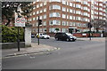 TQ2779 : Junction of Ennismore Gardens and Kensington Road by Roger Templeman