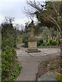 SD9303 : Alexandra Park, Blind Joe's Statue by David Dixon