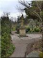 SD9303 : Alexandra Park, Blind Joe's Statue by David Dixon