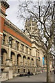 TQ2679 : Victoria and Albert Museum, Cromwell Gardens face by Roger Templeman