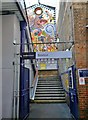 TQ3175 : Entrance, Brixton Railway Station SW9 by R Sones
