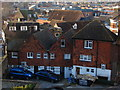 SU9949 : Guildford roof-scape by Alan Hunt