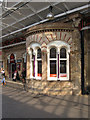 SJ7154 : Crewe - cafe bay window by Dave Bevis