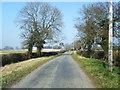 SJ4870 : Barnhouse Lane looking north by Colin Pyle
