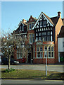 TQ1364 : Former Edwardian post office, Esher by Julian Osley