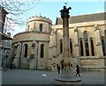 TQ3181 : Temple Church from Church Court by Rob Farrow