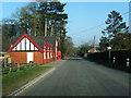 SJ6363 : Hall Lane, Darnhall by Colin Pyle