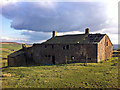 SD9831 : Derelict farm buildings at Coppy, above Crimsworth Dean by Phil Champion
