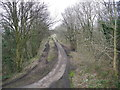 SJ9493 : Old railway trackbed (2) by John Topping