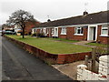 ST2993 : East Road bungalows, Oakfield, Cwmbran by John Grayson