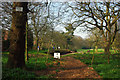 SP0584 : End of the path though Edgbaston Pool Nature Reserve by Phil Champion