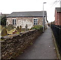 ST2894 : Lane past a former chapel, Cwmbran by John Grayson