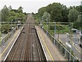 TL8619 : Kelvedon (low level) railway station (site) by Nigel Thompson