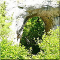 SK1452 : Natural arch, Dovedale by Graham Horn