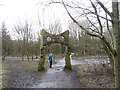 NZ2969 : Archway, Rising Sun Country Park by Oliver Dixon