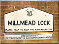 SU9949 : Millmead Lock by Colin Smith