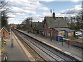 SJ4886 : Hough Green Railway Station by David Dixon