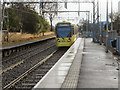 SJ8196 : Metrolink, Trafford Bar by David Dixon