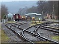 SK2664 : Tracks at Peak Rail, Rowsley South Station : Week 11