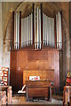 SK8943 : Organ, St Mary's church, Marston by J.Hannan-Briggs