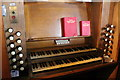 SK8943 : Organ console, St Mary's church, Marston by J.Hannan-Briggs