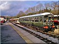 SK2854 : Ecclesbourne Valley Railway, DMU railcar Iris at Wirksworth by Chris Morgan