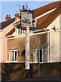 TM5197 : The Plough Public House sign by Adrian Cable