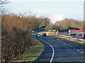 NY4828 : Westbound A66, Baron's Hill by David Dixon
