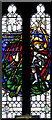 TL1710 : St Leonard, Sandridge - Stained glass window by John Salmon