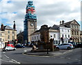 ST9273 : Church steeple repairs, Chippenham by John Grayson