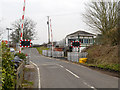SJ7781 : Mobberley Level Crossing, Station Road by David Dixon