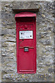 SP0511 : Victorian Postbox, Chedworth by Christine Matthews