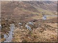 NH0117 : Path climbing by the Allt Grannda, Gleann Lichd by Jim Barton