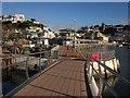SX9163 : Footbridge, Torquay harbour : Week 12