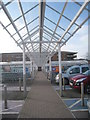 ST3261 : Covered walk, Tesco, Weston super Mare by Jonathan Thacker