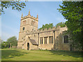 SK4968 : St Leonard's Church at Scarcliffe by Trevor Rickard