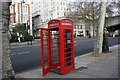 TQ3080 : Telephone Kiosk, Victoria Embankment by N Chadwick