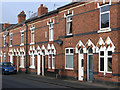 SJ7055 : Crewe - terrace on Alton Street by Dave Bevis