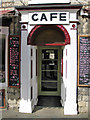 SE8383 : Baldersons cafe entrance by Pauline Eccles