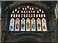 SJ8398 : Manchester Cathedral East Window by David Dixon